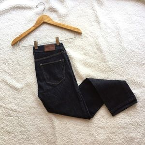 Madewell rail straight jeans in madewell wash